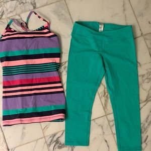 IVIVVA TOP AND LEGGINGS